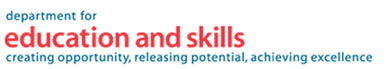 Logo of the Department for Education and Skills